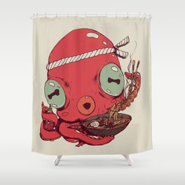 Spicy Ramen Shower Curtain