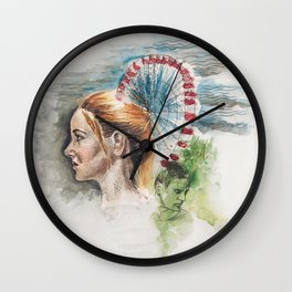 Tris Prior Wall Clock