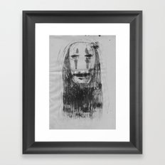 Spirited Away No Face  Framed Art Print