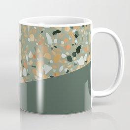 Terrazzo Texture Military Green #4 Coffee Mug