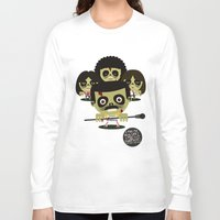 zombies Long Sleeve T-shirts featuring queen zombies by danvinci