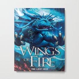 Wings of Fire 2 Metal Print