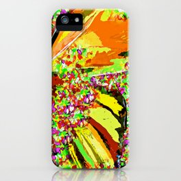 Butterfly Autumn So Pretty ORANGE AND GOLD iPhone Case