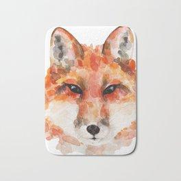 Cunning red fox Bath Mat