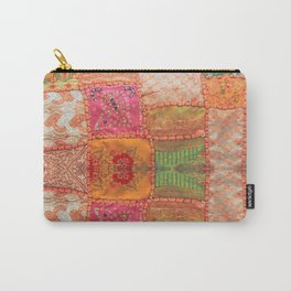 patchwork quilt Carry-All Pouch