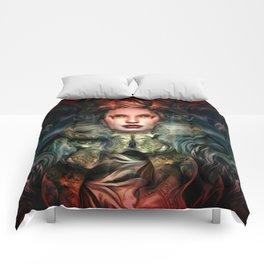 """Dream Winter, Spring Awakening"" Comforters"