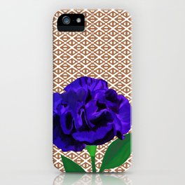 Bloomin' Violet iPhone Case
