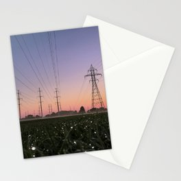 Morning Run Stationery Cards