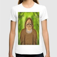 yeti T-shirts featuring Yeti by Designs By Misty Blue (Misty Lemons)