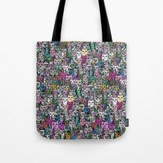 Gemstone Cats CYMK Tote Bag