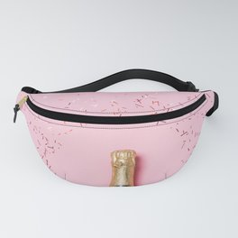 Pink Champagne Party Fanny Pack