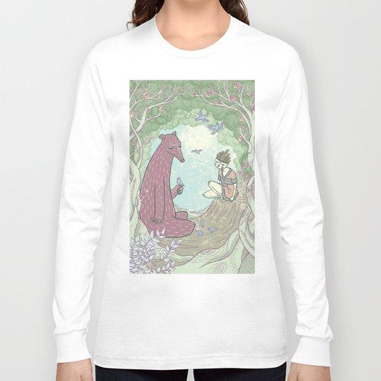 Bear and Bird Long Sleeve T-shirt