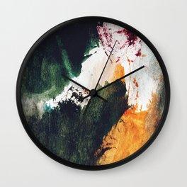 Abstract C6 Wall Clock