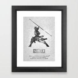 STAR WARS - The Phantom Menace (with Background) Framed Art Print