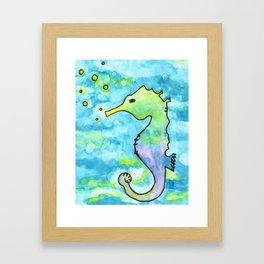 C-Horse Framed Art Print