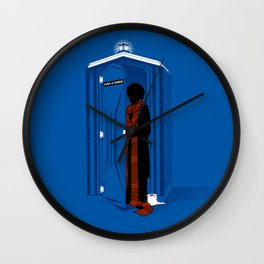 Pit Stop Wall Clock