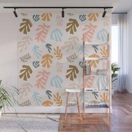 Seaweeds and sand Wall Mural