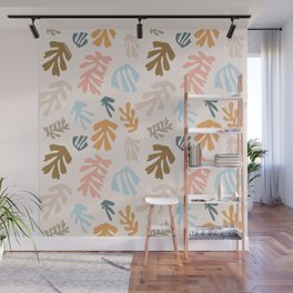 Seaweeds and sand Wall Mural