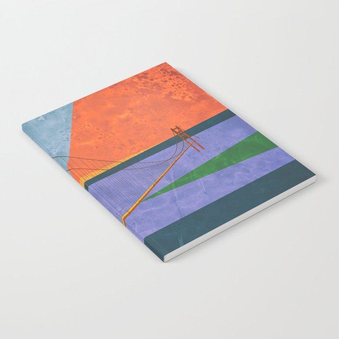 Golden Gate Bridge II Notebook