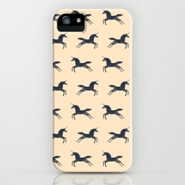Unicorns Are Real (Pattern) iPhone Case
