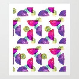 DemiLune Art Print