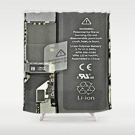 See Through iPhone Shower Curtain