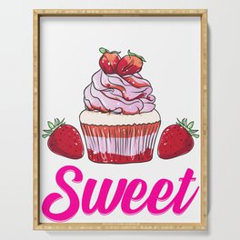 Funny Diabetics Are Naturally Sweet Diabetes Pun Serving Tray