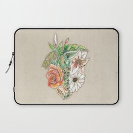 Heart in Bloom Laptop Sleeve