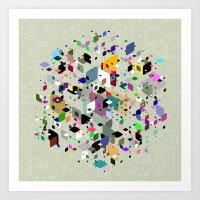 breaking Art Prints featuring Breaking Free by Angelo Cerantola