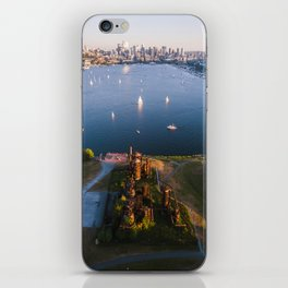 Gas Works and Lake Union iPhone Skin