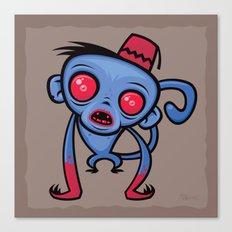 Zombie Monkey Canvas Print