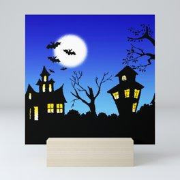 Blue Sky Of Nightmare Mini Art Print