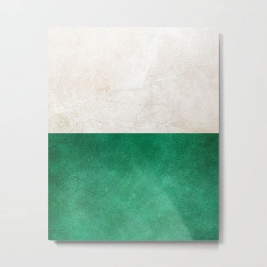 Pearl & Emerald #society6 #decor #buyart Metal Print