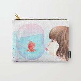 Bubblegum Carry-All Pouch