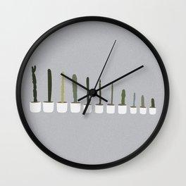 MCA Cacti Wall Clock