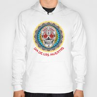 day of the dead Hoodies featuring Day of the Dead by Gary Grayson