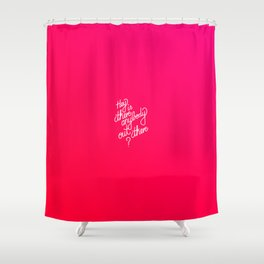 Hey is there anybody out there?   [gradient] Shower Curtain