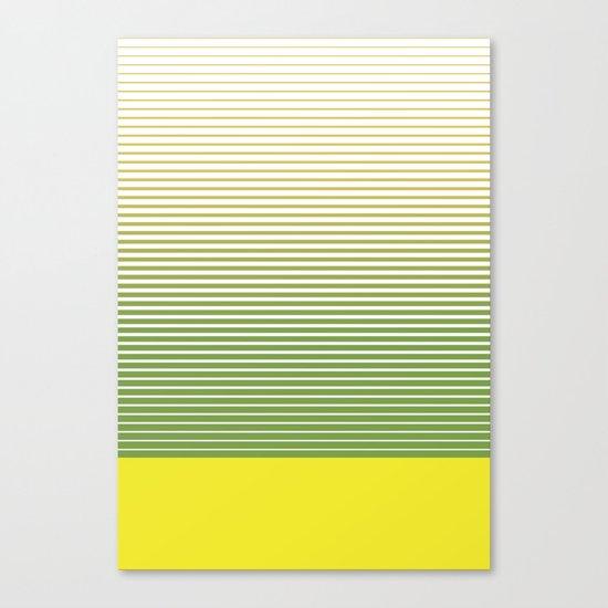 zen stripes Canvas Print