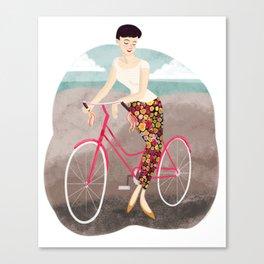 Beach Ride Canvas Print