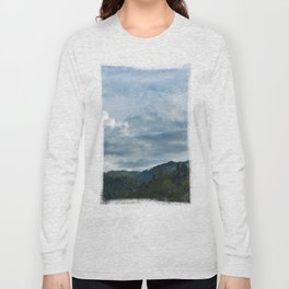 Princess Mononoke Landscape Long Sleeve T-shirt