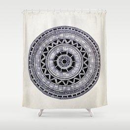 Mandala Creation #6 Shower Curtain
