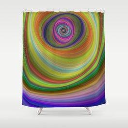 Eye of the Sky Shower Curtain