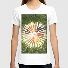 Carrot Color Wheel T-shirt