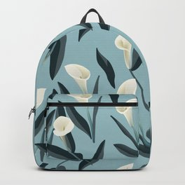 Flowers print (calla) Backpack