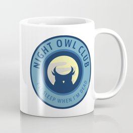 Night Owl Club Coffee Mug