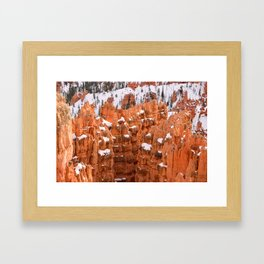Bryce Canyon - Sunset Point IV Framed Art Print