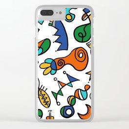 Amusons nous Clear iPhone Case
