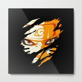 Anime - Face Metal Print
