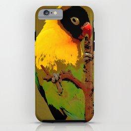 Nature Parakeet iPhone Case