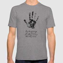Shakespeare - Macbeth - Something Wicked This Way Comes T-shirt